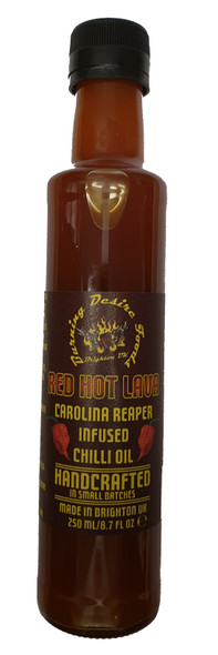 Hot Lava Reaper Chilli Oil Image by Burning Desire