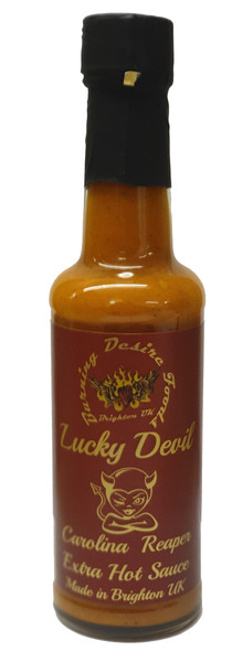 Lucky Devil Chilli Sauce image by CHILLIESontheWEB