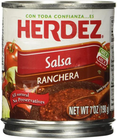 Herdez Ranchera Salsa 220g image by CHILLIESontheWEB