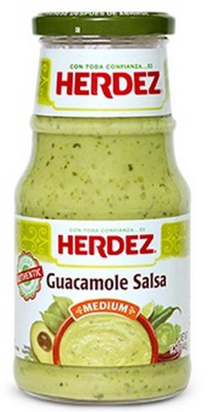 Herdez de Guacamole Salsa 240g Image by CHILLIESontheWEB