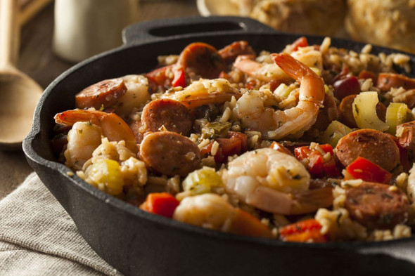 Cajun Meal Image by Chillies on the Web