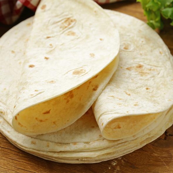 """Flour Tortilla Wraps 30cm 12"""" Image by SPICESontheWEB"""
