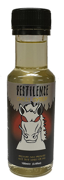 Pestilence Hot Chilli Syrup 100ml by Grim Reaper Image