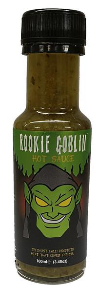 Rookie Goblin Jalapeño, Coriander & Lime Chilli Sauce 100ml by Grim Reaper Image