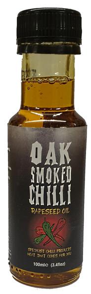 Incinerator Oak Smoked Chilli Oil 100ml by Grim Reaper Image