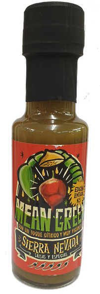 Mean Green Superhot Chilli Sauce 125ml  Image by SPICESontheWEB