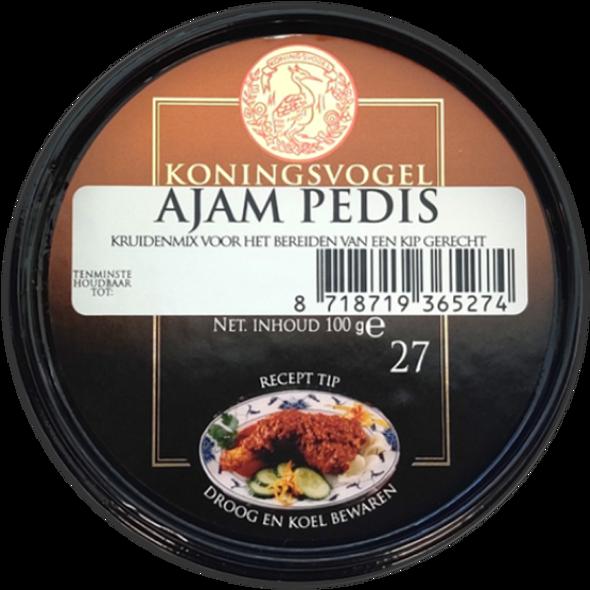 Koningsvogel Ajam Pedis  Spice Paste 100g Image
