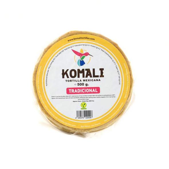Komali Tradicional Corn Wraps 15cm - 500g Image by SPICESontheWEB