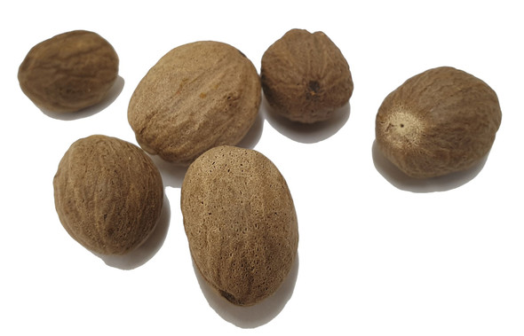 Organic Nutmegs Whole Image by SPICESontheWEB