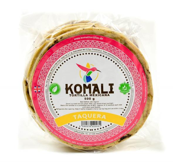 Komali Taquera Corn Wraps 12cm - 500g Image by SPICESontheWEB