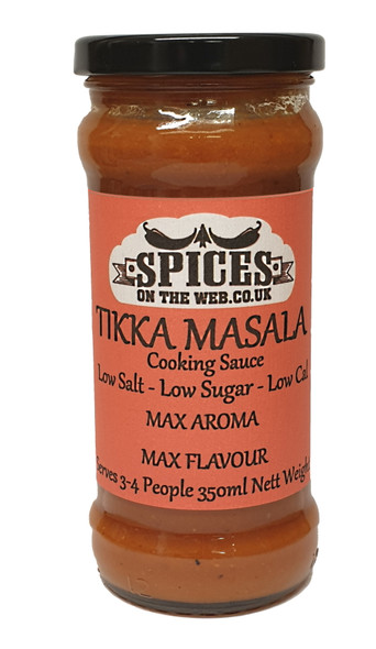 Tikka Masala Cooking Sauce 350ml Image by SPICESontheWEB