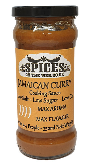 Jamaican Curry Cooking Sauce 350ml Image by SPICESontheWEB