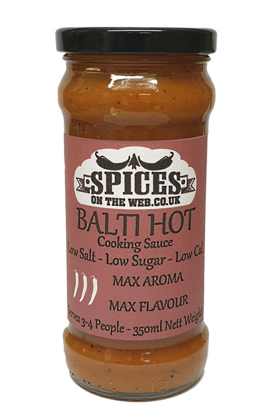 Balti Hot Cooking Sauce 350ml Image by SPICESontheWEB