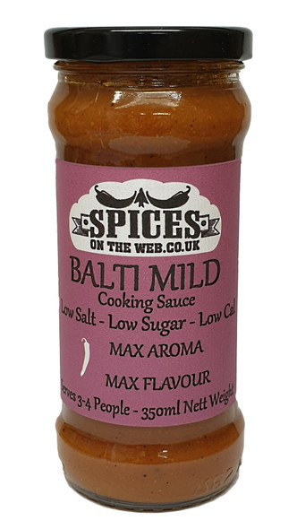 Balti Mild Cooking Sauce 350ml Image by SPICESontheWEB
