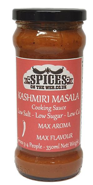Kashmiri Masala Cooking Sauce 350ml Image by SPICESontheWEB