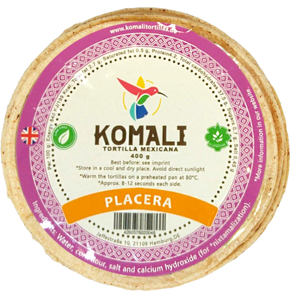 Komali Placera Corn Wraps 10cm - 400g Image by SPICESontheWEB