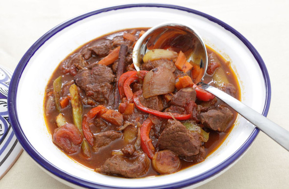 Ras el Hanout Meal Image, Chillies on the Web