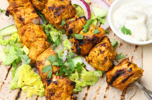 Chicken Tikka Kebabs Image, Chillies on the Web