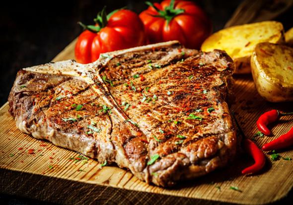 Seasoned Steak Image, Chillies on the Web