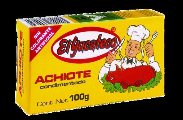 El Yucateco Achiote Paste 100g Image, Spices on the Web