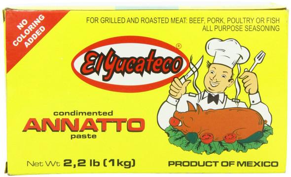 El Yucateco Achiote Paste 1kg Image, Spices on the Web