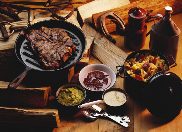 T-Bone Steak Meal Image by Chillies on the Web