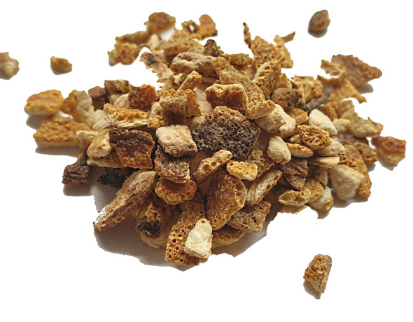 Orange Peel Granules from Spain Image by Spices on the Web