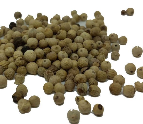 White Peppercorns from Maylasia Image by Chillies on the Web