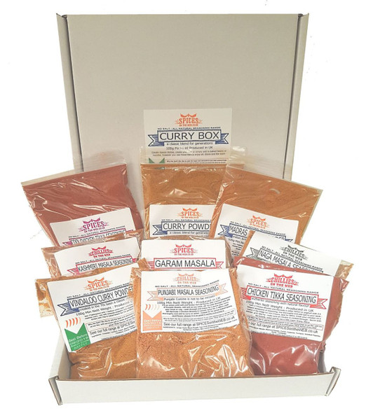 Curry Gift Pack Image by SPICESontheWEB.co.uk
