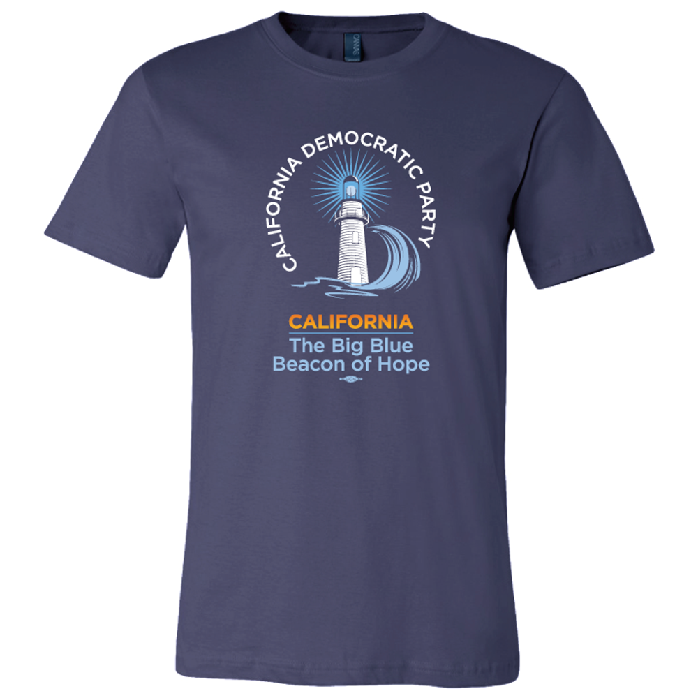 Lighthouse  (on Navy Tee)