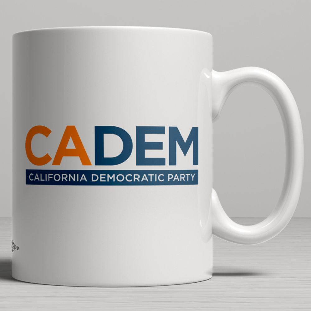 California Democratic Party Logo (11oz. Coffee Mug)