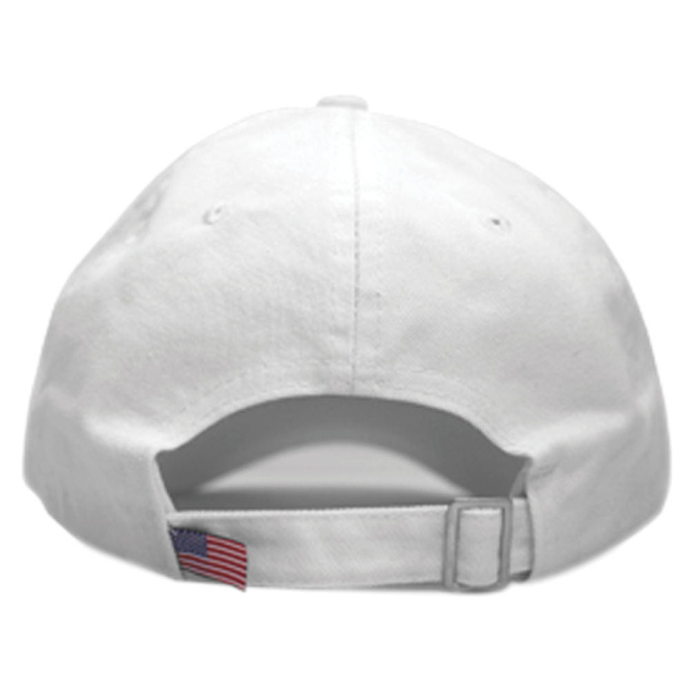Bear Logo (White Baseball Cap)