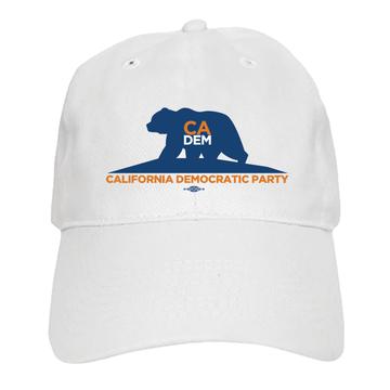 Bear Logo (White Baseball Cap)