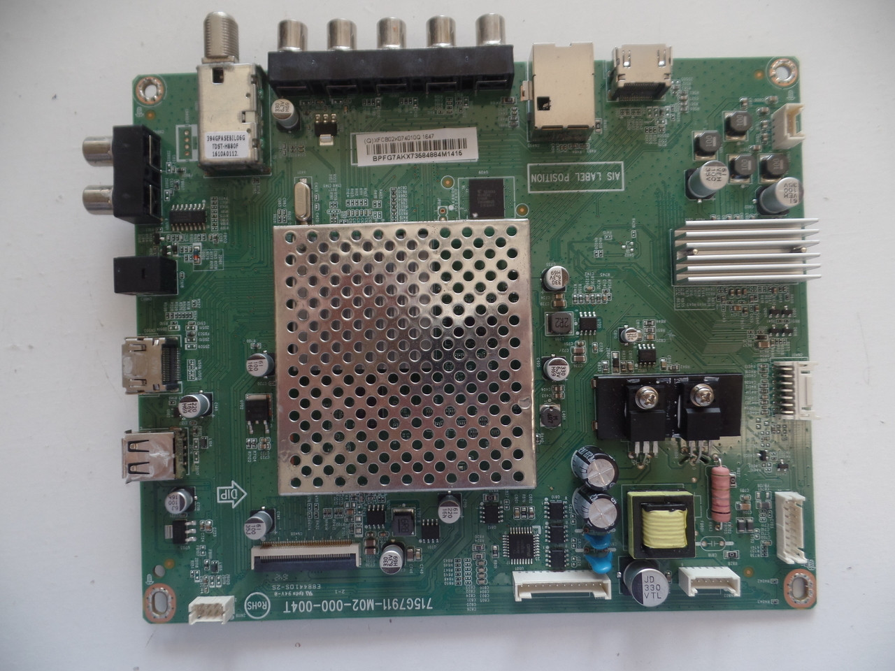 Vizio 756TXFCB02K0740 Main Board for D40-D1 LTTETVCS,LTBETVCS,LTBETVFS Serial