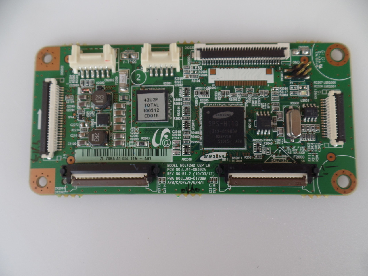 BN96-12651A, LJ92-01708A Samsung Main Logic CTRL Board on