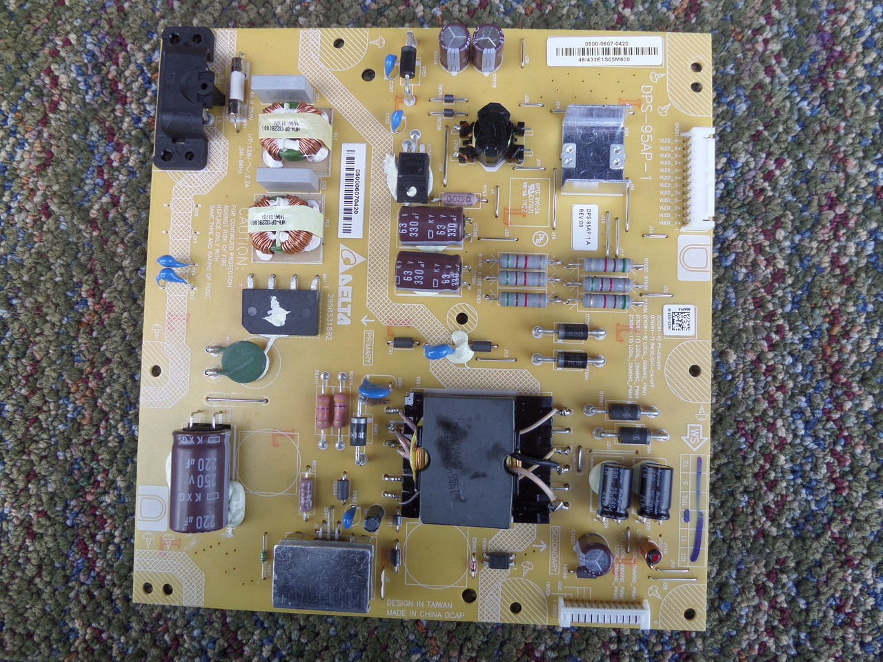 0500-0607-0420, DPS-95AP-1 Vizio Power Supply / LED Board