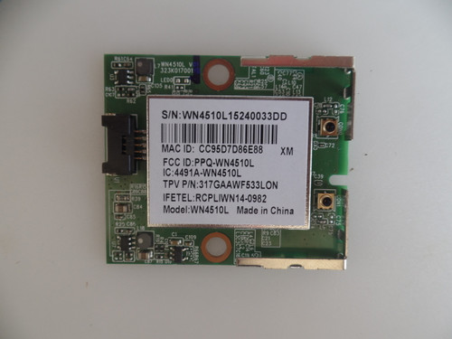 317GAAWF533LON Vizio Wi-Fi Module / Wireless Adapter