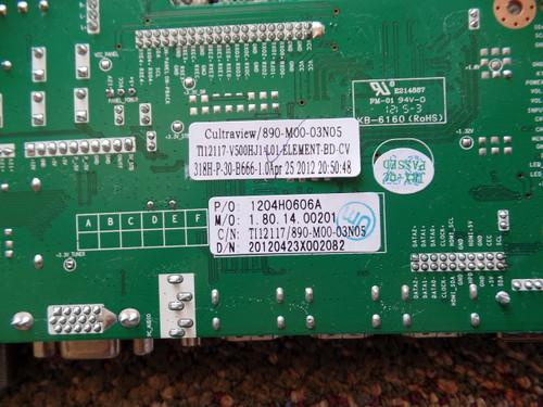 1204H0606A, CV318H-P Element Main Board for ELDFQ501J
