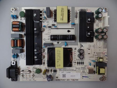 222172 Sharp / Hisense Power Supply / LED Board
