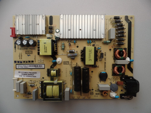 08-L171WD2-PW200AB TCL Power Supply Board