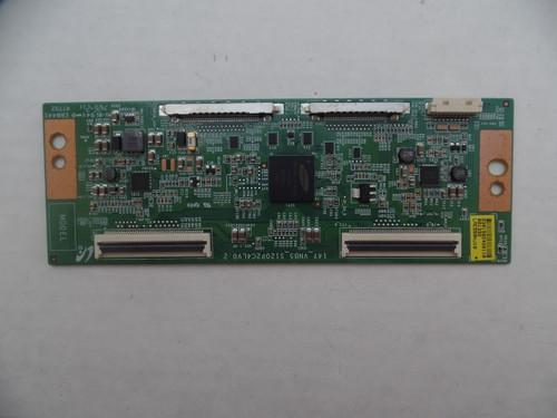 LJ94-30156D T-CON BOARD RCA LED55G55R120Q