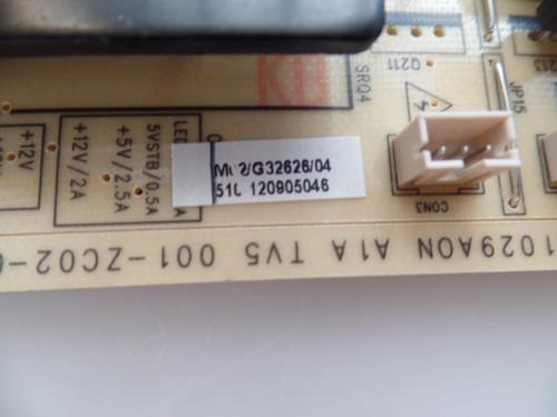 Westinghouse//Proscan TV5001-ZC02-01 Power Supply Unit