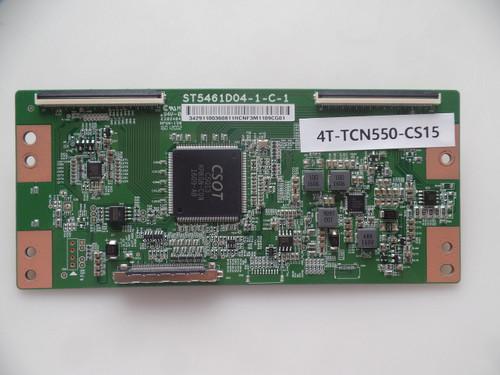 4T-TCN550-CS15, 342911003608, (ST5461D04-1-C-1) T-Con Board for TCL 55US57TGAA