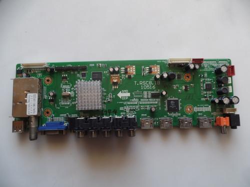 46RE01TC81XLNA0-F1, T.RSC8.1B 10516 RCA Main Board for 46LA45RQ
