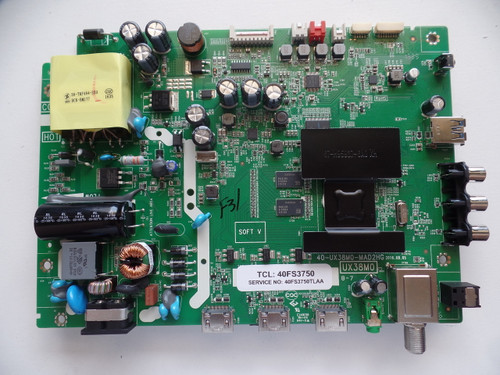 40FS3750TLAA Main Board/Power Supply TCL For 40FS3750