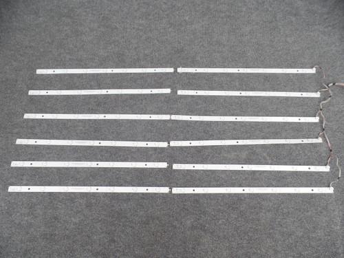 MBL-55038D614WS0 Vizio LED Strips - 12 Strips