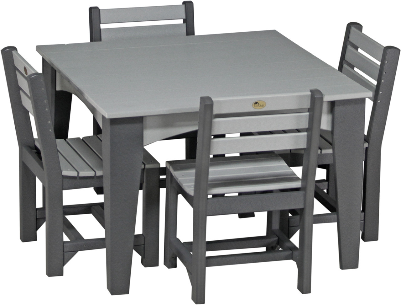 Island Dining 44 Square Set Wayside Lawn Structures
