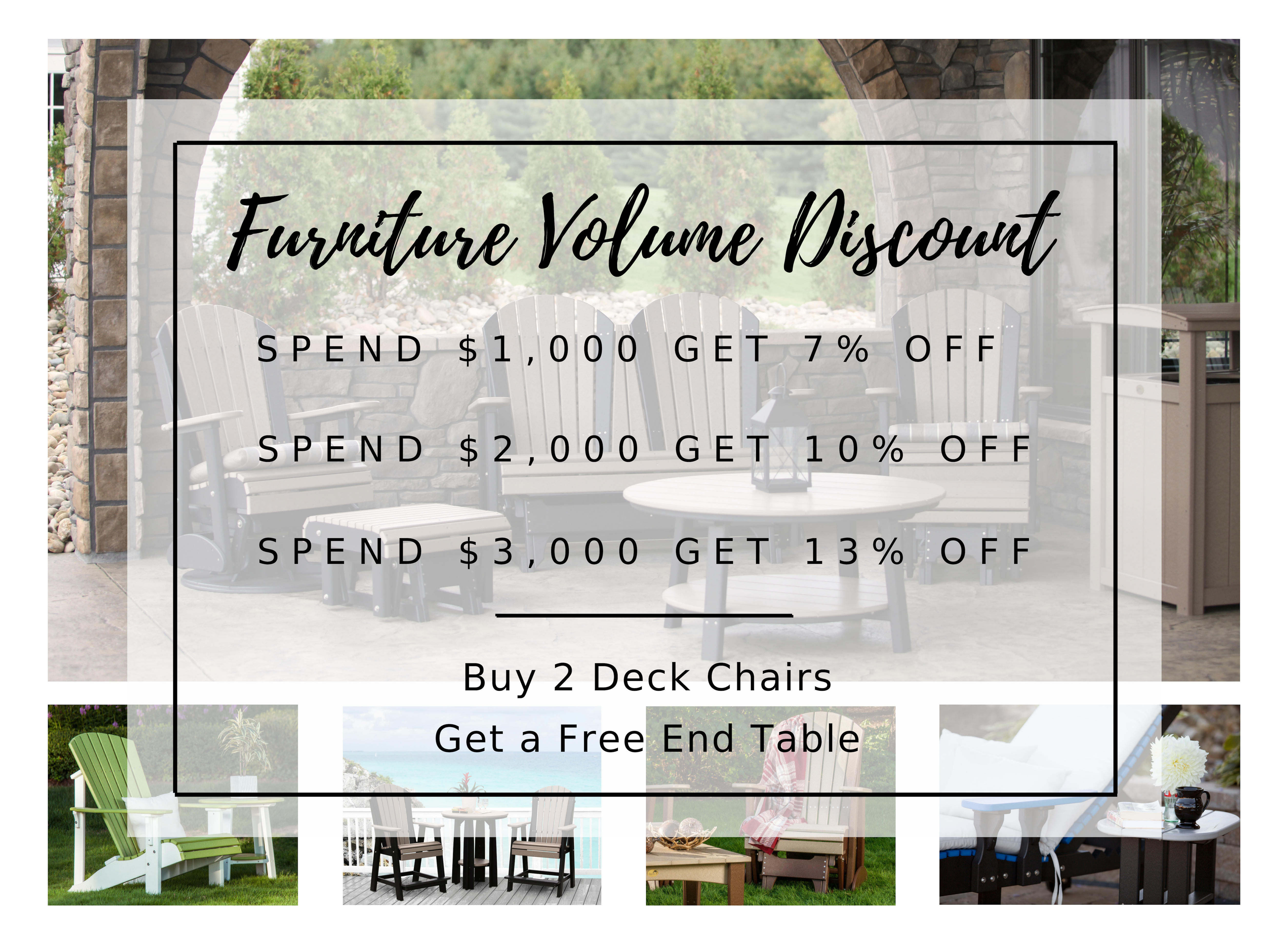 Furniture Volume Discount