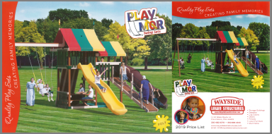 Download the PlayMor Catalog & Price List