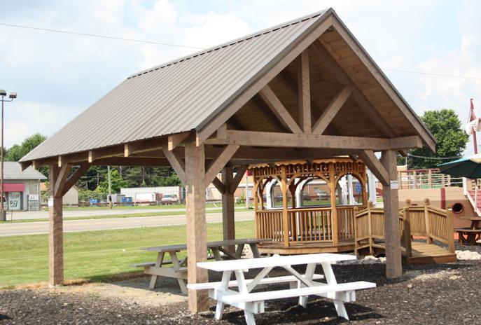 Rustic Pavilions